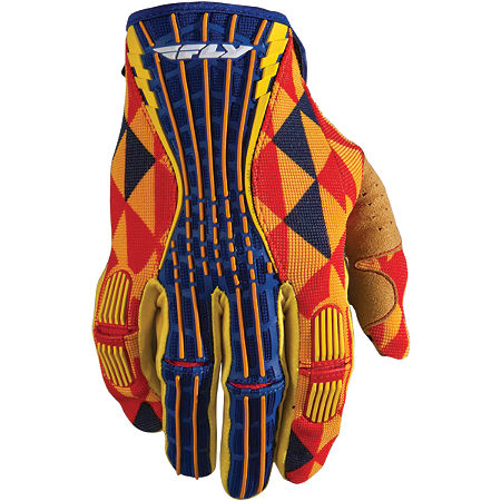 2012 Fly Racing Kinetic Gloves - Main
