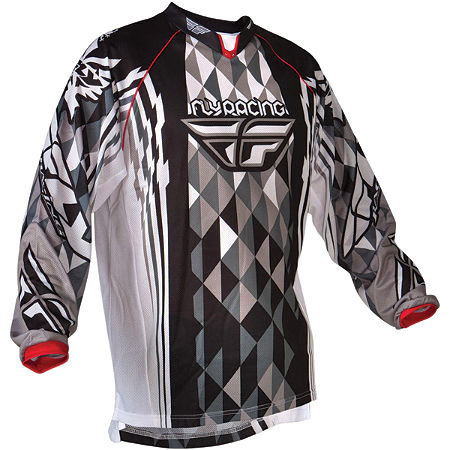 2012 Fly Racing Kinetic Mesh Jersey - Main