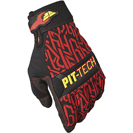 Fly Racing Pit Tech Pro Gloves - Fly Racing Pit Tech Lite Gloves