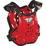 Fly Racing Stingray Roost Guard - Dirt Bike Chest and Back