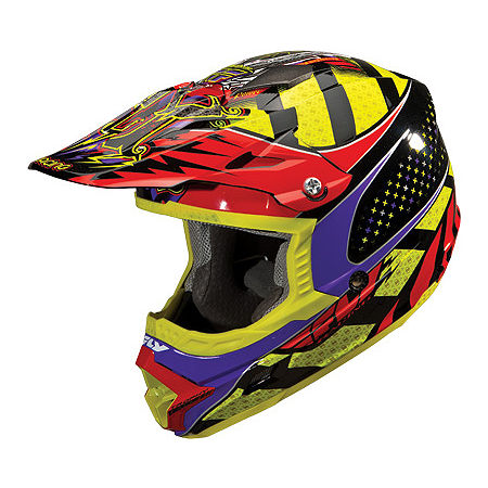 2013 Fly Racing Trophy Lite Helmet - Main