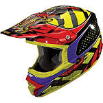 2013 Fly Racing Trophy Lite Helmet -  Motocross Chest and Back Protection