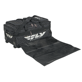 Fly Racing Tour Roller Bag - 2013 Troy Lee Designs Flight Bag - Black