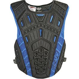 Fly Racing Undercover II Clip Entry Chest Protector - AXO Duo Roost Guard