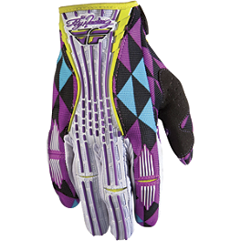 2012 Fly Racing Women's Kinetic Gloves - 2012 Troy Lee Designs Women's Ace Gloves - Voodoo