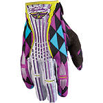 2012 Fly Racing Women's Kinetic Gloves - Fly Dirt Bike Gloves