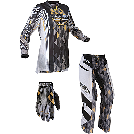 2012 Fly Racing Women's Kinetic Combo - Over The Boot - 2013 Troy Lee Designs Women's GP Air Combo - Savage