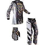 2012 Fly Racing Women's Kinetic Combo - Over The Boot -  Dirt Bike Pants, Jersey, Glove Combos