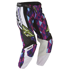 2012 Fly Racing Women's Kinetic Race Pants - 2013 Troy Lee Designs Women's GP Air Pants - Airway