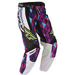 2012 Fly Racing Women's Kinetic Race Pants - Fly Dirt Bike Riding Gear