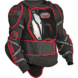 2013 Fly Racing Barricade Body Armor Long Sleeve Suit - 2013 Scott Pursuit 450 Jacket Protector