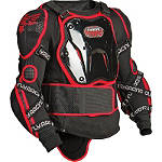 2013 Fly Racing Barricade Body Armor Long Sleeve Suit - KIDNEY-BELTS Dirt Bike Chest and Back