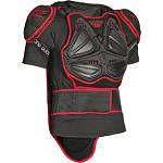 2013 Fly Racing Barricade Body Armor Short Sleeve Suit - KIDNEY-BELTS Dirt Bike Chest and Back