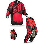 2013 Fly Racing Evolution Combo - Rev - Discount & Sale Utility ATV Pants, Jersey, Glove Combos
