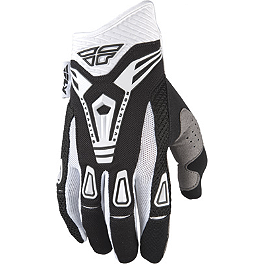 2013 Fly Racing Evolution Gloves - 2002 Kawasaki KX125 Dunlop 125/250F D952 Tire Combo