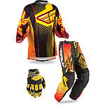 2013 Fly Racing F-16 Combo - Limited - Fly Dirt Bike Pants, Jersey, Glove Combos