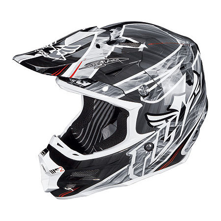 2014 Fly Racing F2 Carbon Helmet - Acetylene - Main