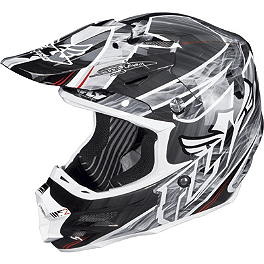 2014 Fly Racing F2 Carbon Helmet - Acetylene - 2013 Fly Racing F2 Carbon Dragon Alliance Helmet