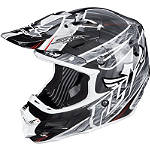 2014 Fly Racing F2 Carbon Helmet - Acetylene - FLY-FEATURED Fly Dirt Bike