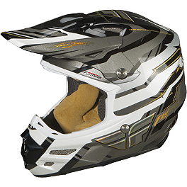 2014 Fly Racing Formula Helmet - Stryper - 2014 Fly Racing F2 Carbon Helmet - Dubstep