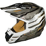 2014 Fly Racing Formula Helmet - Stryper - Utility ATV Off Road Helmets
