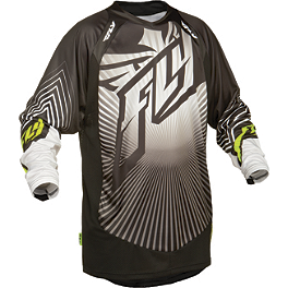 2014 Fly Racing Lite Jersey - Hydrogen - 2014 Fly Racing Lite Gloves