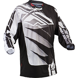 2013 Fly Racing Kinetic Jersey - Inversion - 2012 Fly Racing Evolution Jersey