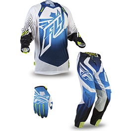 2014 Fly Racing Lite Hydrogen Combo - 2013 JT Racing Evolve Protek Vented Combo - Race