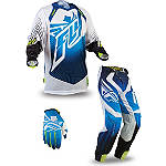 2014 Fly Racing Lite Hydrogen Combo - Fly Dirt Bike Pants, Jersey, Glove Combos