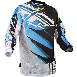 2013 Fly Racing Kinetic Mesh Jersey - Inversion - 2013 Fly Evolution Jersey - Sonar