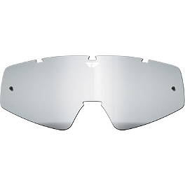 Fly Racing Zone / Zone Pro / Focus Anti-Fog Lens - No Posts - Fly Racing Focus / Zone / Zone Pro Anti-Fog Lens