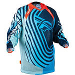 2013 Fly Evolution Jersey - Sonar - MENS--JERSEYS Dirt Bike Riding Gear