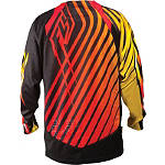 Red-Black-Yellow Back View