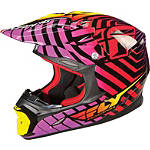 2014 Fly Racing Three.4 Helmet - Motocross Helmets