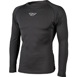 2014 Fly Racing Base Layer Lightweight Long Sleeve Top - 2014 Answer Hybrid Gloves