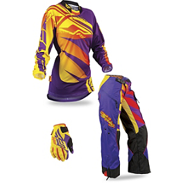 2013 Fly Racing Women's Kinetic Combo - OTB - 2013 Fox Women's Switch Combo - Foxtown
