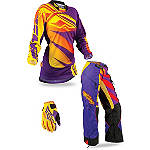 2013 Fly Racing Women's Kinetic Combo - OTB - Fly Utility ATV Pants, Jersey, Glove Combos