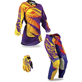 2013 Fly Racing Women's Kinetic Combo - Race - 2013 O'Neal Women's Element Combo