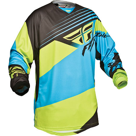 2014 Fly Racing Kinetic Jersey - Blocks - Main