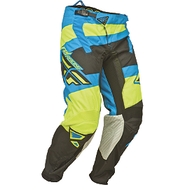 2014 Fly Racing Kinetic Pants - Blocks - 2014 Fly Racing Evolution Pants - Clean