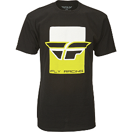 Fly Racing Color Block T-Shirt - Alpinestars Slogan T-Shirt