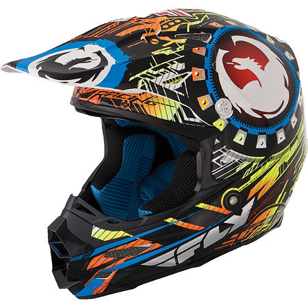 2014 Fly Racing F2 Carbon Dragon Alliance Helmet - Main
