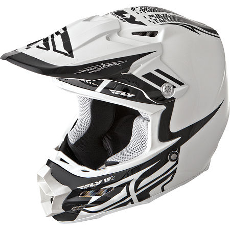 2014 Fly Racing F2 Carbon Helmet - Dubstep - Main