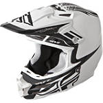 2014 Fly Racing F2 Carbon Helmet - Dubstep - ATV Helmets and Accessories