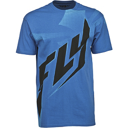 Fly Racing Halftone T-Shirt - Fly Racing Reverse-A-Bill Beanie