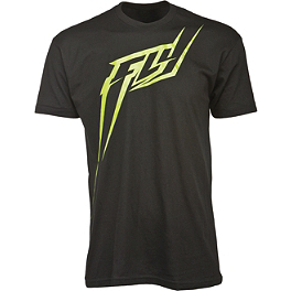 Fly Racing F-L-Y-ght T-Shirt - Fly Racing Script-Drip T-Shirt