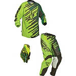 2014 Fly Racing Kinetic Combo - Shock - Fly Utility ATV Pants, Jersey, Glove Combos