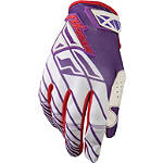 White-Red-Purple Glove