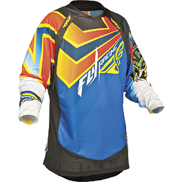 2014 Fly Racing Evolution Jersey - Vertigo - 2014 Fly Racing F-16 Jersey - Limited