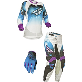 2014 Fly Racing Women's Kinetic Race Combo - 2014 Troy Lee Designs Women's GP Air Combo - Airway